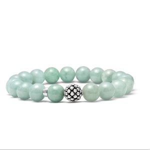 Lagos Jade Stretch Bracelet 925